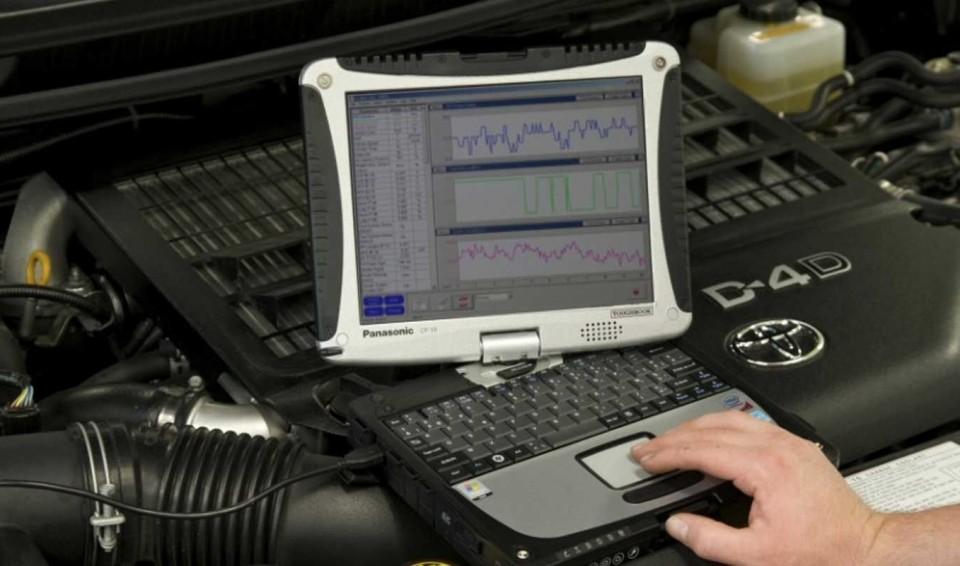 12. Диагностика и ремонт электронных систем автомобиля в Калининграде.